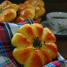 椰蓉花朵包