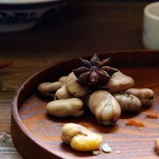 五香煮蠶豆