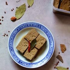 五香卤豆腐