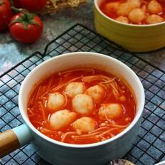 番茄鱼丸煲