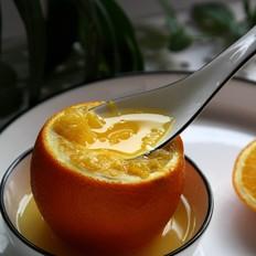 海盐蒸橙子