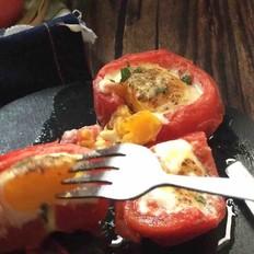 西红柿烤蛋
