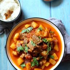 牛排炖土豆的做法