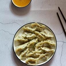 苋菜猪肉饺子