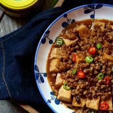酱香肉末豆腐