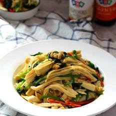 腐竹拌菠菜