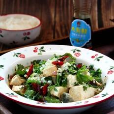 皮蛋手掰豆腐