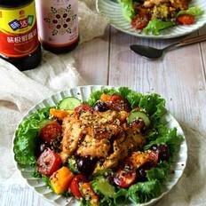 鸡胸肉沙拉