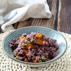 南瓜杂粮焖饭