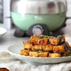 豆腐神仙吃法——照烧海苔豆腐