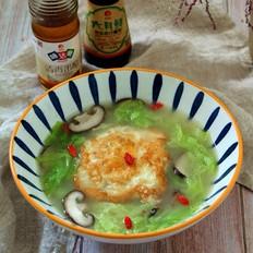 香菇白菜汤的做法