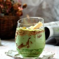 咖啡慕斯斑斓燕麦奶