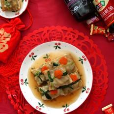 四喜豆腐包