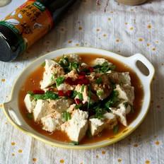 鸡汁手掰豆腐