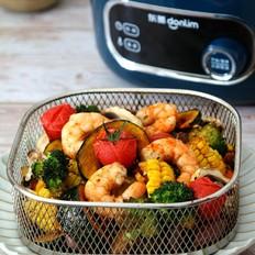 空气炸锅烤时蔬的做法
