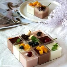 巧克力棉花糖慕斯的做法