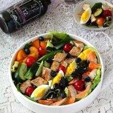果蔬鸡肉沙拉