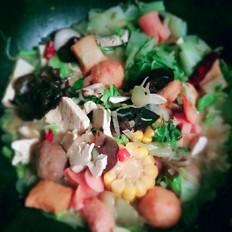白菜烩丸子