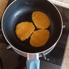 香蕉鸡蛋小饼