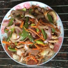 杂菜烤鱿鱼须