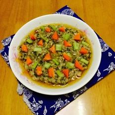 梅菜蒸肉饼