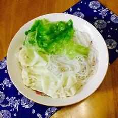 生菜云吞粉