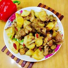 猪肉焖土豆