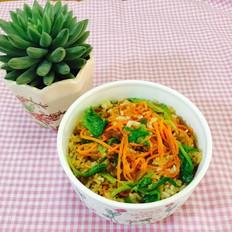 胡萝卜丝炒饭