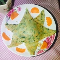 香荽鸡蛋饼