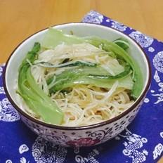 油菜炒米粉