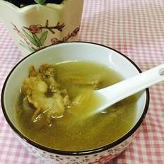 豆角干猪骨汤