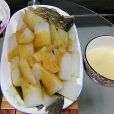白萝卜鱼尾汤