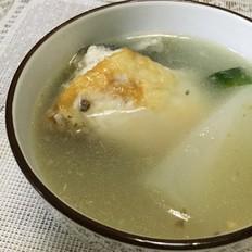 白萝卜鱼骨汤