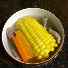 玉米猪展汤