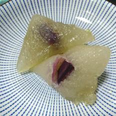 紫苏西米粽