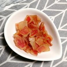 来自西瓜的美味~~西瓜皮软糖