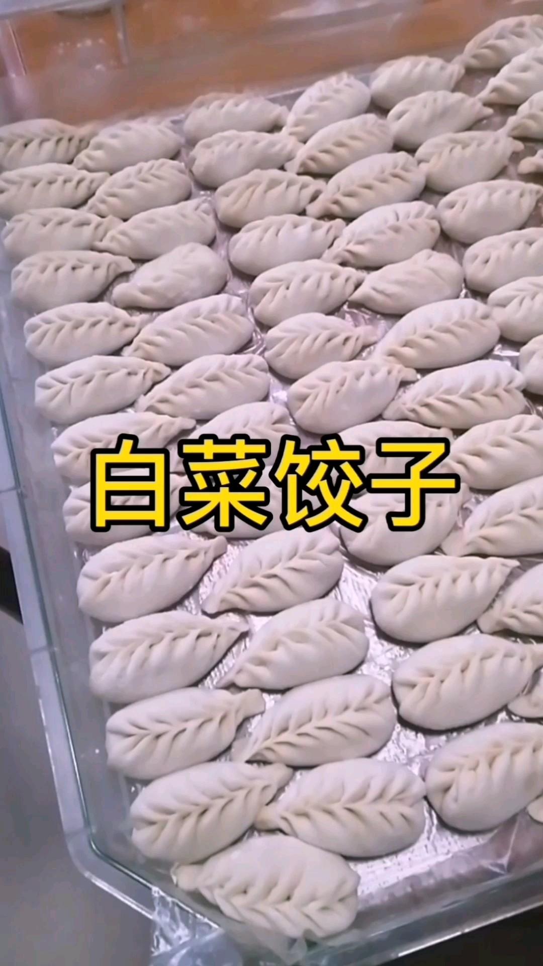 包白菜饺子