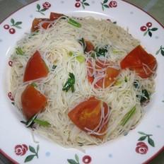 简简单单也不失美味~~番茄米线