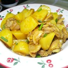 咖喱土豆焖鸡腿肉
