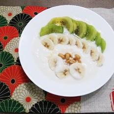 水果酸奶盘