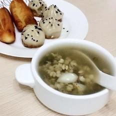 百合绿豆薏米汤
