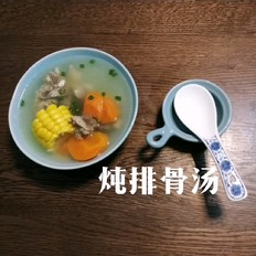炖排骨汤~电高压锅版本