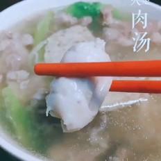 快手~火足 【cu】肉汤(肉片汤)