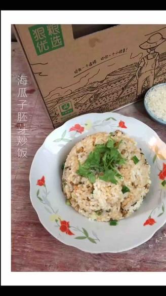 海瓜子胚芽炒饭的做法