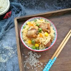 胚芽米排骨焖饭