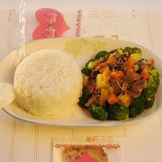 恒大兴安红咖喱羊肉饭