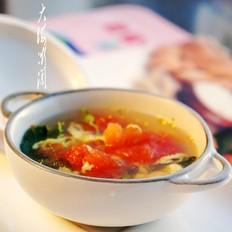 香椿芽蛋花汤