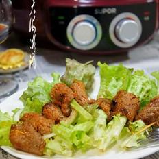 黑胡椒里脊肉菠菜卷