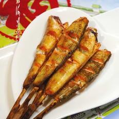 串烤南极冰鱼
