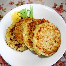 鳕鱼米饭饼